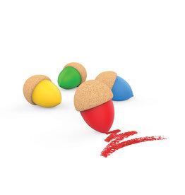 Elou Cork elou cork crayons 4pk