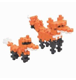 Plus Plus plus plus mini maker tube - red fox