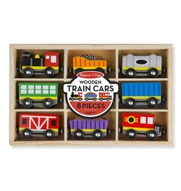 Melissa & Doug melissa & doug wooden train cars