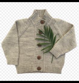 Nooks Design nooks narwhal merino wool cardigan