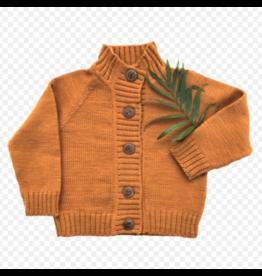 Nooks Design nooks golden spruce merino wool cardigan