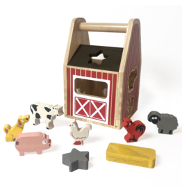 Begin Again begin again barnyard shape sorter