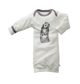 Babysoy babysoy jane goodall animal sleep gown - marmot