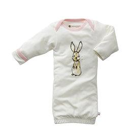 Babysoy babysoy jane goodall animal sleep gown - pink rabbit