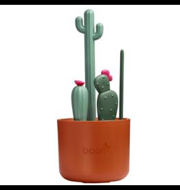 Boon boon cacti bottle brush set - brown/sage