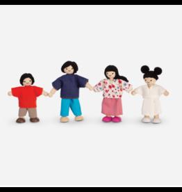 Plan Toys plan toys doll family - asian family