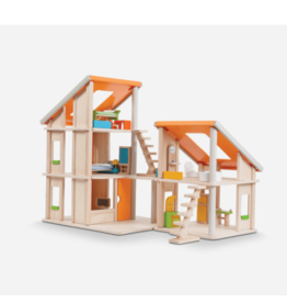 Plan Toys plan toys chalet dollhouse with furniture
