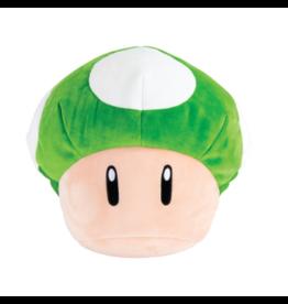 TOMY - Nintendo tomy nintendo 1 up mushroom mega mocchi mocchi plush 14 inch