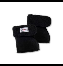 stonz linerz sherpa boot inserts - black
