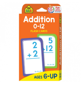 School Zone school zone addition flash cards ages 6 & up