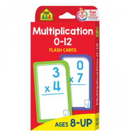 School Zone school zone multiplication flash cards ages 8 & up