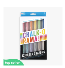 Ooly ooly chalk-o-rama chalk crayons - set of 12