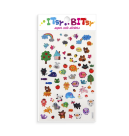 Ooly ooly itsy bitsy stickers - animal town