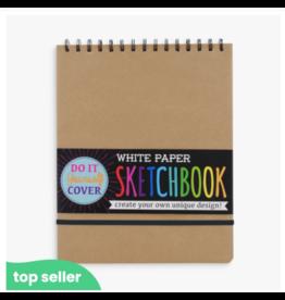 Ooly ooly large DIY sketchbook - white paper