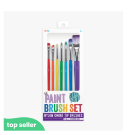 Ooly ooly lil paint brushes - set of 7