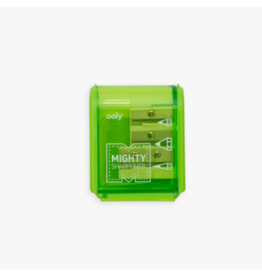 Ooly ooly mighty sharpeners - green