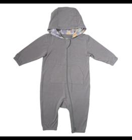 Juddlies juddlies camoose jumpsuit grey