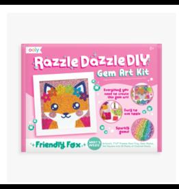 Ooly ooly razzle dazzle D.I.Y gem art kit - friendly fox