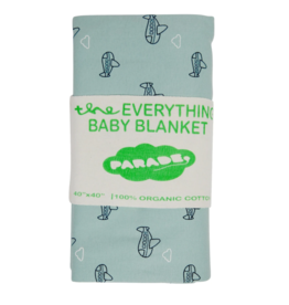 Parade parade organics everything blanket - airplanes