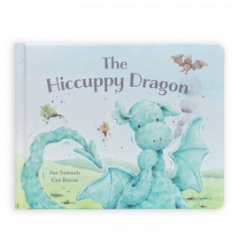 Jellycat jellycat the hiccupy dragon book