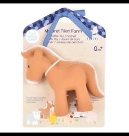 Tikiri tikiri bonikka farm collection my first farm rattle + bath toys - horse