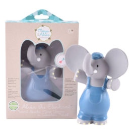 Tikiri tikiri alvin the elephant natural rubber squeaker