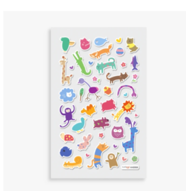 Ooly ooly itsy bitsy stickers - wacky wildlife