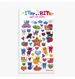 Ooly ooly itsy bitsy stickers - cat eyes