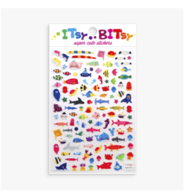 Ooly ooly itsy bitsy stickers - little sea life