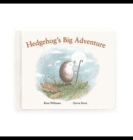 Jellycat jellycat hedgehog's big adventure book