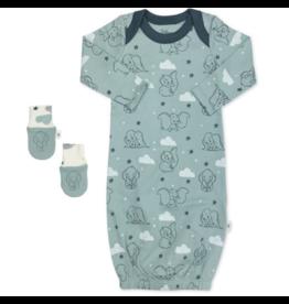 Finn & Emma finn and emma gown + mittens - disney classic dumbo