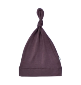 Kyte Baby kyte baby knotted cap - cocoa