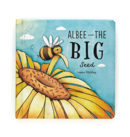 Jellycat jellycat albee and the big seed board book