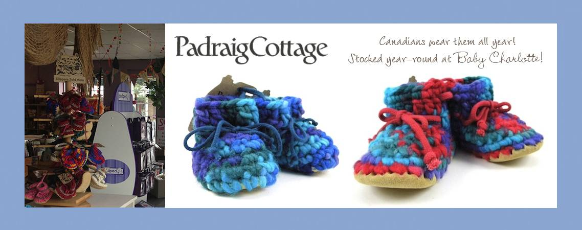 Padraig Cottage - Stocked Year-round at Baby Charlotte!