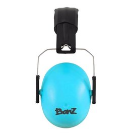 Banz banz earmuffs hearing protection for kids - blue