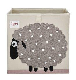 3 Sprouts 3 sprouts storage box - sheep