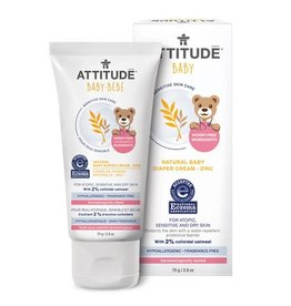 Attitude attitude natural baby diaper cream with zinc 75 g