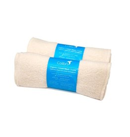 Colibri colibri organic cotton sherpa wash cloths 5pk
