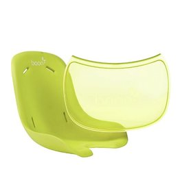 Boon boon flair pedestal seat pad and tray liner - green