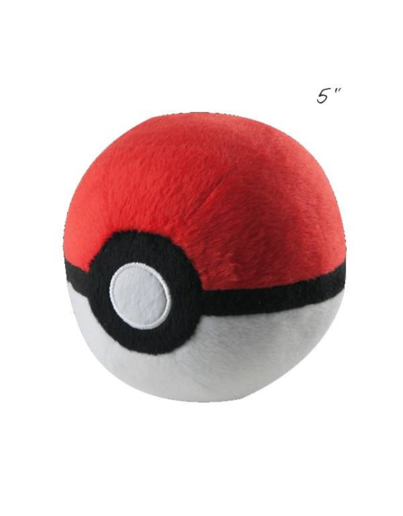 "TOMY - Pokemon pokemon 5"" plush poke ball"