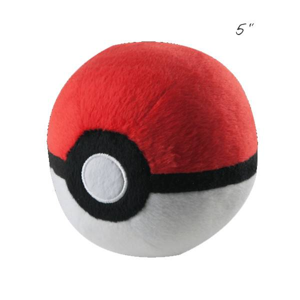 "TOMY - Pokemon pokemon 5"" plush poke ball"