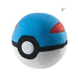 "TOMY - Pokemon pokemon 5"" plush great ball"