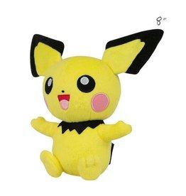 "TOMY - Pokemon pokemon 8"" plush pichu"