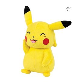 "TOMY - Pokemon pokemon 8"" plush laughing pikachu"