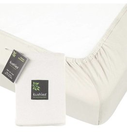 Kushies Baby kushies baby organic jersey cotton crib sheet - off white