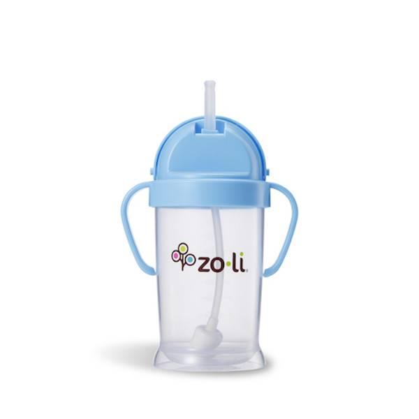 Zoli zoli bot original straw sippy cup - blue