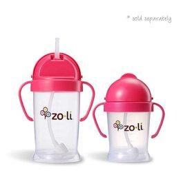 Zoli zoli bot original straw sippy cup - pink
