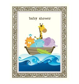 Yellow Bird Paper Greetings yellow bird paper greetings - ark shower baby card