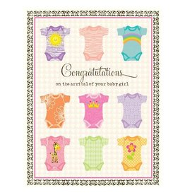 Yellow Bird Paper Greetings yellow bird paper greetings - undershirts girl baby card
