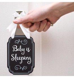Pearhead pearhead sleeping baby chalkboard door hanger